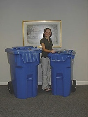 Securely Dispose of Your Documents With ShredAssured's Locking Polyethylene Plastic Containers.